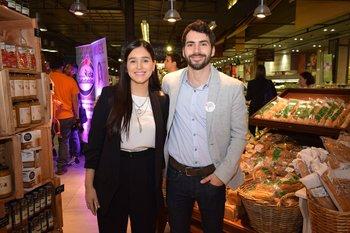 Carolina Álvarez y Rodrigo Lagomarsino