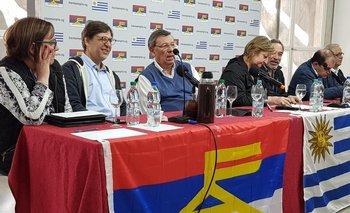El Plenario Nacional de Alianza Progresista recibió al presidente del FA Javier Miranda