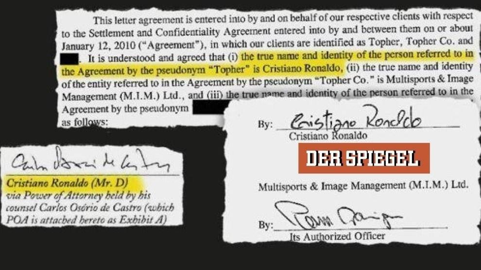 Filtran acuerdo de 2009 entre Cristiano y su acusadora