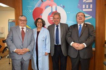 Gerardo García Rial, Laura Batalla, Jorge Quian y Julio Martinez