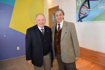 Luis Lagioia y Darwin Cerizola