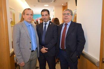Nestor Conde, Alfredo Torres y Gilberto Rios