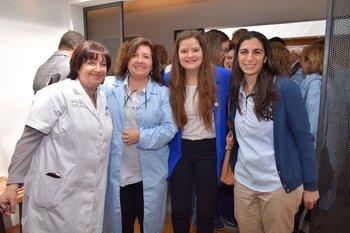 Susana Grunbaum, Teresita Arribillaga, julieta Sanchez y Leticia Keussayan