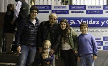 Martín Michelena y sus nietos regresarán al local tacuaremboense