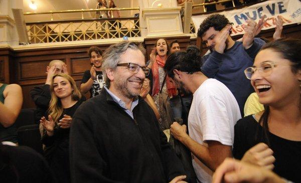 Rodrigo Arim fue electo rector de la Universidad de la República