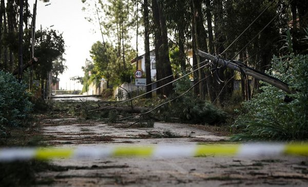 Portugal vuelve a la normalidad tras la tormenta tropical Leslie