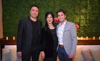 Álvaro Padin, Lourdes Rapalin y Juan Manuel Padin INST