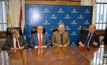 Jorge Rodríguez, Gerardo García Rial, Alegre Sasson y Julio Martinez