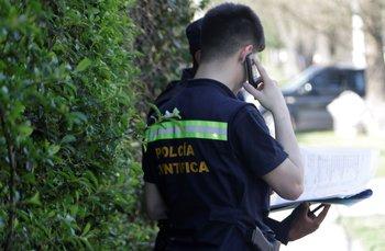 En la zona del hallazgo había papeles y bolsas quemadas, confirmó la fiscal