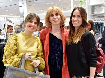 Luciana, Natalia y Valentina Jinchuk