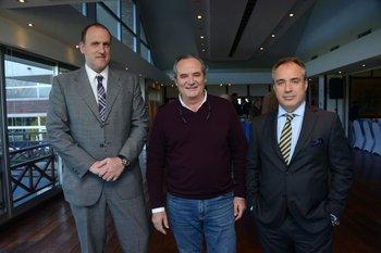 Horacio García Terra, Jorge Gard y Alejandro Ruibal
