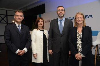 Juan Ruiz, Rosario Corral, Alberto Charro y Gloria Sorensen