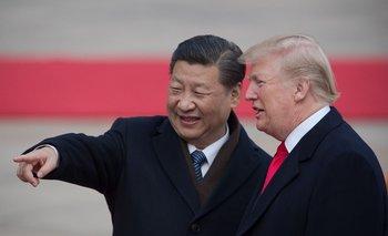 Xi Jinping y Donald Trump en noviembre de 2017