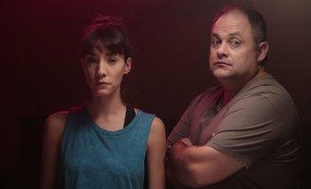 Gabriela Freire y Néstor Guzzini son los protagonistas de la nueva serie uruguaya