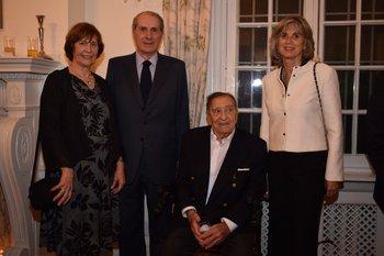 Chris Ferrand, Diego Payssé, Manfredo Cikato y Margarita Díaz