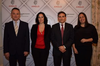 Ian Duddy, Florencia Raña, gerardo Valzza y Heloisa Chavez