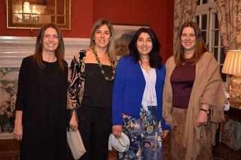 Nora Ramos, Teresita Curbelo, Adda Corbo y Geraldine Pool