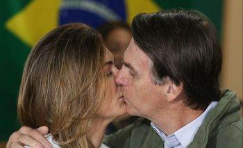 Michelle Bolsonaro, primera dama y esposa del nuevo presidente electo de Brasil, Jair Bolsonaro.