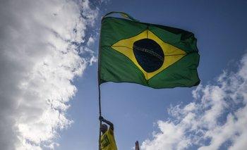 Militantes de Jair Bolsonaro salieron a manifestarse a favor de su candidato este domingo 28, día en que se celebró la segunda vuelta de las presidenciales en Brasil