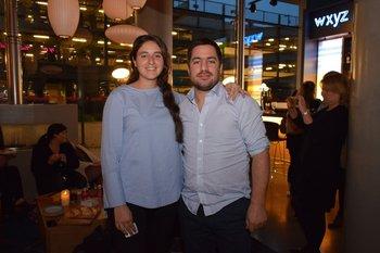 Victoria Fernández y Matias Gramoso
