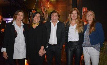 Valentina Artagaveytia,María josé Scremini, Álvaro Marchand, Renata Campomar y Soledad Ortiz