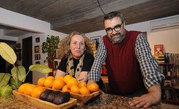 Alva Sueiras y Jaime Clara