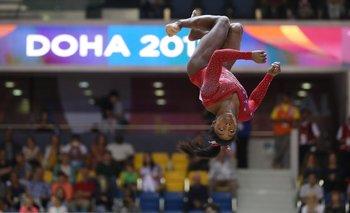 El regreso de Simone Biles en Doha