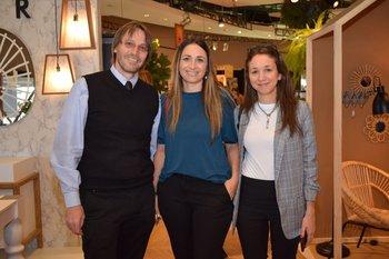 Ari Acher, Yael Weitz e Ivette San Martin
