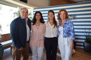 Gonzalo Aguirre, Laura Blanco, Priscila Vejo y Patricia Damiani