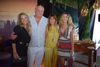 Heliana Dos Santos, Jorge Oyenard, Geraldine Lewi y Maitena Amorim