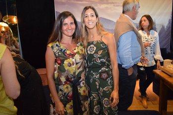 Luciana Lavista y Manuela Pallares