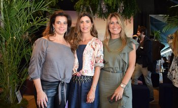 Carina Martinez, Ximena Arcos Perez y Renatta Battione