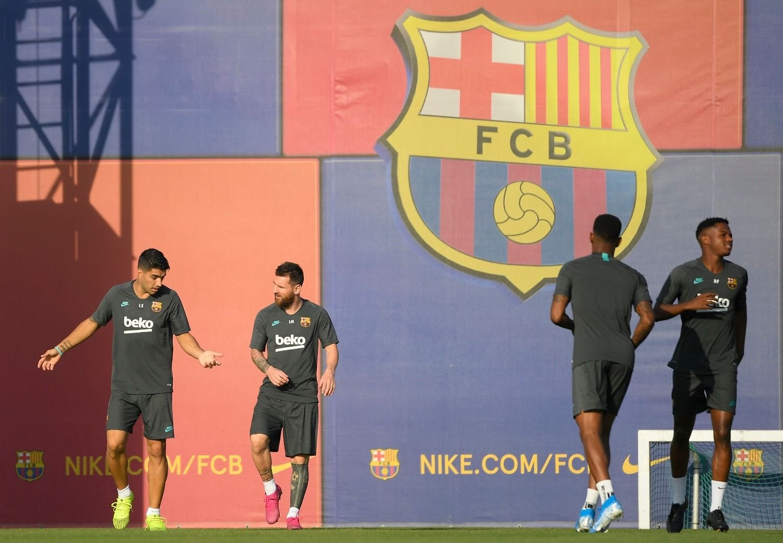 Setién minimizó el desplante de Messi: