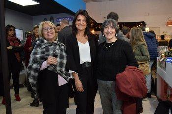 Dora Lorenzo, María josé Albarracin y Susana Littera