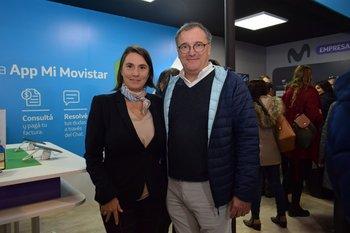 Leticia Pintos y Alejandro Alvariza