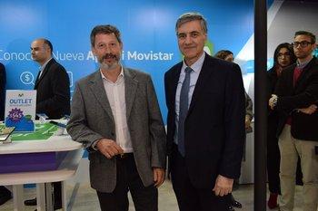 Marcelo Tarakdjan y José Pedro Derrégibus