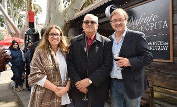 Karina Spremolla, Enzo Derech y José Lez