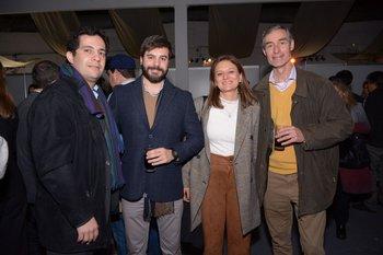 Martin Ribeiro, Rogelio Rodríguez, Laura Scarpa y Daniel Telechea