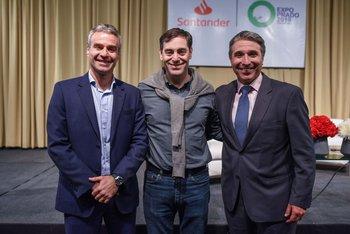 Pablo Gaudio, Santiago Bilinkis y Gustavo Trelles