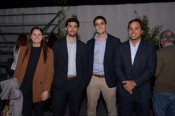 Sofia Posada, Diego Arancibia, Santiago Storace y Rodrigo Vidal
