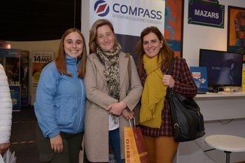 Silvina Scholderle, María Jesus Ramírez y María Rosa Melazzi