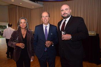 Ana Ruta y Nuno de Mello Bello y Andrew Schwartz