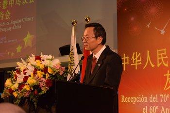 Embajador de la República Popular de China, Wang Gang