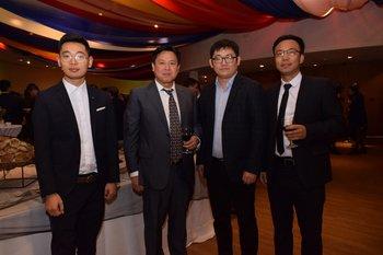 Ignacio Pean, Ning Chen, Lin Yantao y Chao Lyu