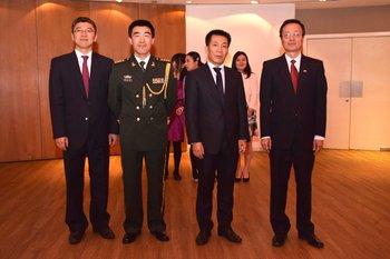 Zhou Quan, Tao Xiangyang, Zhang Wenwei y Wang Gang