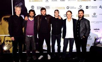 Federico Veiroj, Martin Rupenian, Diego Robino, Daniel hendler, Luis Machin y Santiago López