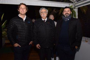Fernando Etchegorry, Jorge Echevarria y Roberto Etchegoinberry