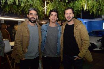 Fernándo Maldonado, Joaquin Andiano y Fabian Carlos