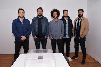 Juan Diego Vispo, Gustavo Etchandy, Brian lorenzo, Federico Cibils y Piter Moreira