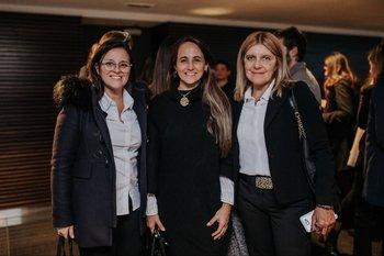 Carolina Baldoni, Eliana Ribeiro, María Pirrongelli